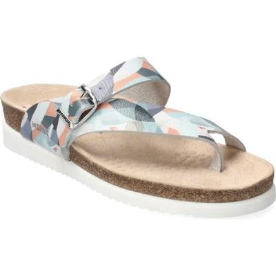 メフィスト MEPHISTO レディース サンダル・ミュール シューズ・靴 'Helen' Sandal Multicoloured Bambou Leather