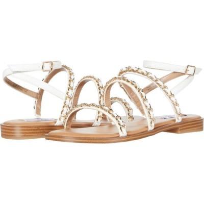 スティーブ マデン Steve Madden レディース サンダル・ミュール シューズ・靴 Telsa Sandals White Multi