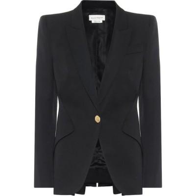 アレキサンダー マックイーン Alexander McQueen レディース スーツ・ジャケット アウター virgin-wool blazer Black