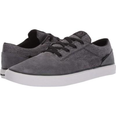 ボルコム Volcom メンズ スニーカー シューズ・靴 Draw Lo Suede Shoes Grey