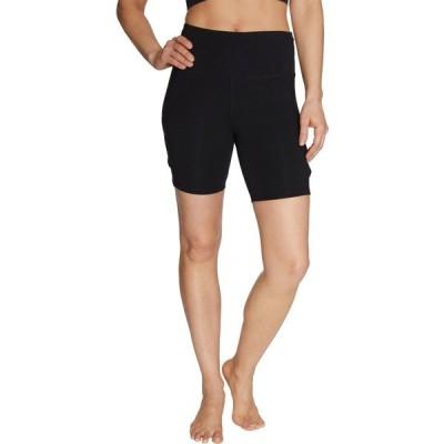 ベッツィジョンソン カジュアルパンツ ボトムス レディース Betsey Johnson Women's Vented Bike Shorts Black