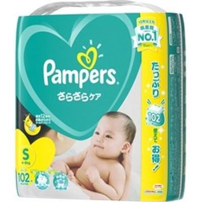 パンパース おむつ さらさらケア テープ  ウルトラジャンボ S (102枚入)