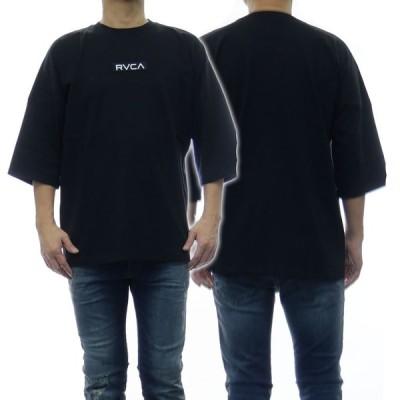 RVCA ルーカ メンズクルーネックTシャツ IN BROOM BOX RVCA SS / BA041-218 ブラック