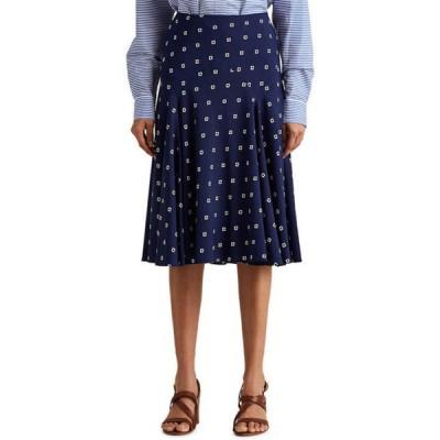 ラルフローレン レディース スカート ボトムス  Print Crepe Peasant Skirt