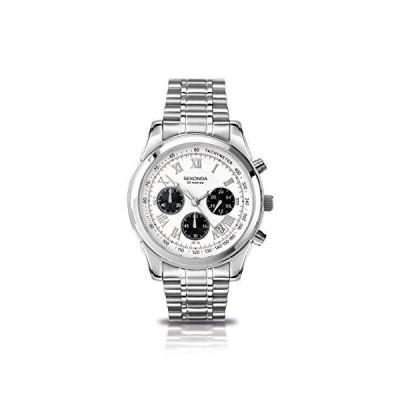 腕時計 セコンダ イギリス 3417.71 SEKONDA - Wristwatch, Quartz Chronograph, Stainless Steel