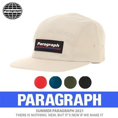 送料無料正規品[PARAGRAPH/パラグラフ] ボックスキャンプキャップ (5color)