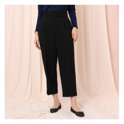 【クチュール ブローチ/Couture brooch】 【WEB限定サイズ(LL)あり】ベルテッドワイドパンツ