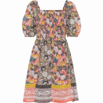 ベルベット グラハムandスペンサー Velvet レディース ワンピース ワンピース・ドレス Taria floral cotton minidress Mul