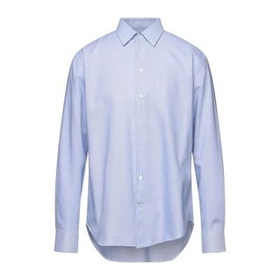 エンポリオ アルマーニ EMPORIO ARMANI シャツ ブルー 38 コットン 100% シャツ