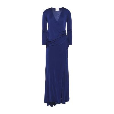 GALVAN  London ロングワンピース&ドレス ダークパープル 36 レーヨン 100% ロングワンピース&ドレス