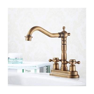 (新古品)YBB-YB 水栓 蛇口 シンクの蛇口バスルームシンクの蛇口 - 広範なアンティー