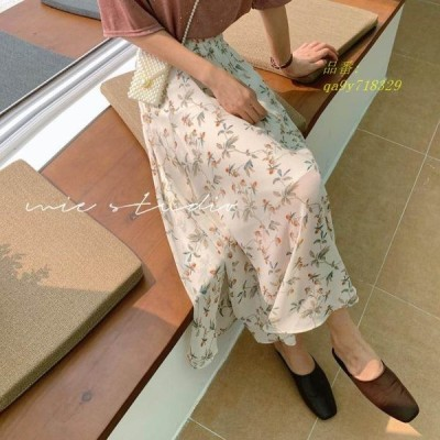 小花柄ロングスカート レディース スカート 花柄ロングスカート 大人可愛い 花柄スカート 小花柄 ロングスカート オシャレ デート かわいい おでかけ フラワー