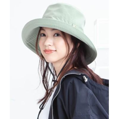 帽子屋ONSPOTZ / イロドリ レディース LADYSA つば広UVハット WOMEN 帽子 > ハット