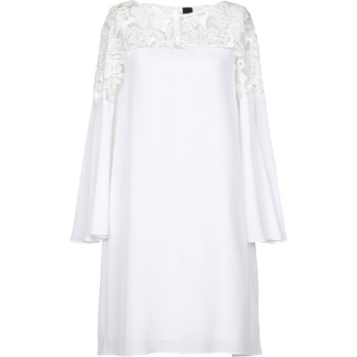 1-ONE ミニワンピース&ドレス ホワイト 38 85% アセテート 15% シルク ポリエステル ナイロン ミニワンピース&ドレス