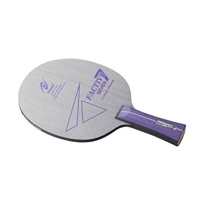 ニッタク(Nittaku) 卓球 ラケットファクティブ7 シェークハンド 攻撃用 7枚合板 フレアー NE6187