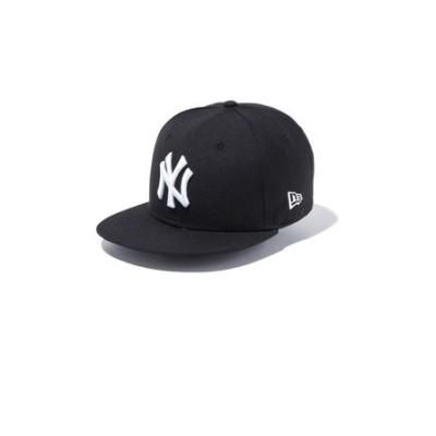 Youth 9FIFTY ニューヨーク・ヤンキース ブラック × ホワイト