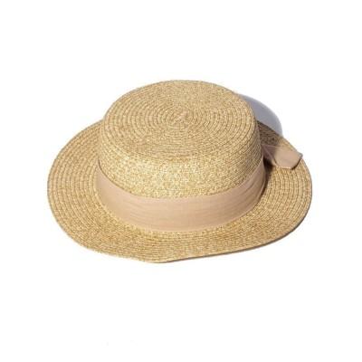 (LAGOM/ラーゴム)【lagom】ペーパーカンカン帽/ ベージュ