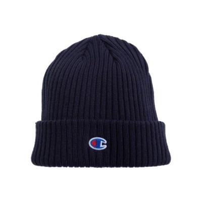 ユニセックス 帽子 キャップ Ribbed Beanie W/C-Patch