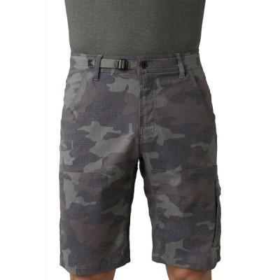 プラーナ prAna メンズ ショートパンツ ボトムス・パンツ Stretch Zion Shorts Gravel Camo
