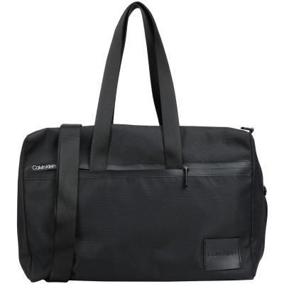 カルバン クライン CALVIN KLEIN 旅行バッグ ブラック ポリエステル 90% / ポリウレタン 10% 旅行バッグ