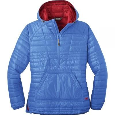 アウトドアリサーチ Outdoor Research レディース ダウン・中綿ジャケット アウター Down Baja Pullover Jacket Wave Blue