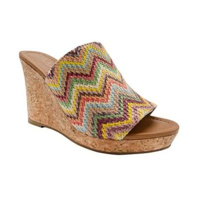 Sugar Women's Haruki Cork Wedge Sandals Womens Wedge Sandals with Raffia Sl