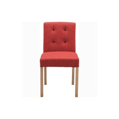 ダイニングチェア(レッド/赤)〈CL-812CRD〉椅子 チェア キッチン ダイニング シンプル ナチュラル インテリア 家具 おしゃれ