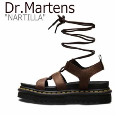 ドクターマーチン サンダル Dr.Martens メンズ レディース NARTILLA ナルティラ BROWN ブラウン 24816201 シューズ