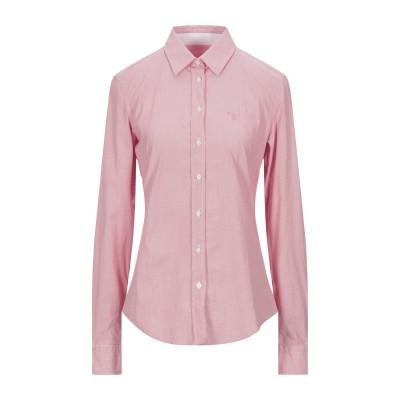 ガント GANT シャツ 赤茶色 38 コットン 97% / ポリウレタン 3% シャツ