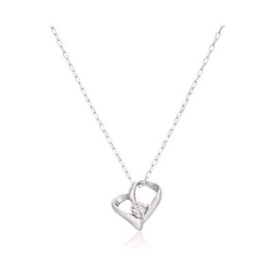 [ディーコレクション] D-COLLECTION プラチナ ダイヤモンドネックレス 0.02ct(カード鑑別付き) DAPN-794PT(プラチナ)