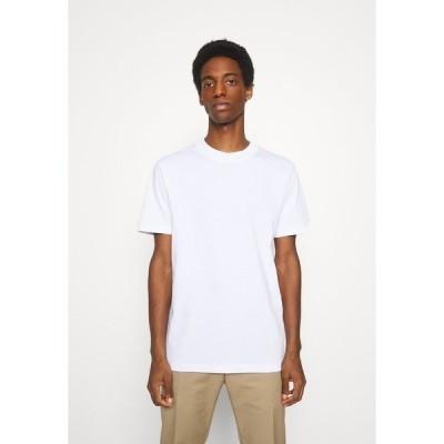 セレクテッドオム Tシャツ メンズ トップス SLHRELAXCOLMAN O NECK TEE - Basic T-shirt - bright white