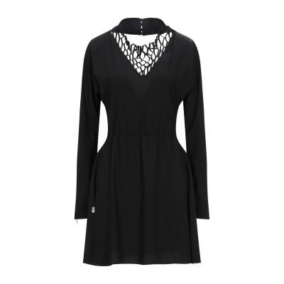 ジジル JIJIL ミニワンピース&ドレス ブラック 40 ポリエステル 89% / ポリウレタン 11% ミニワンピース&ドレス