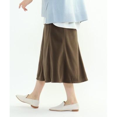 INDIVI(インディヴィ) トスカーナフリースジャージスカート
