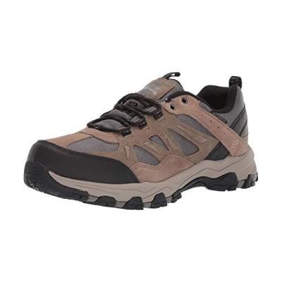 Skechers Men's SELMEN-ENAGO Trail Oxford Hiking Shoe Tan 9 Medium US 並行輸入品