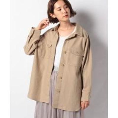 WEGO(ウィゴー)WEGO/【セットアップ対応商品】ビッグシルエットカラーCPOシャツジャケット