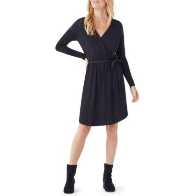 スプレンディット レディース ワンピース トップス Balsa Mixed Media Long-Sleeve Dress