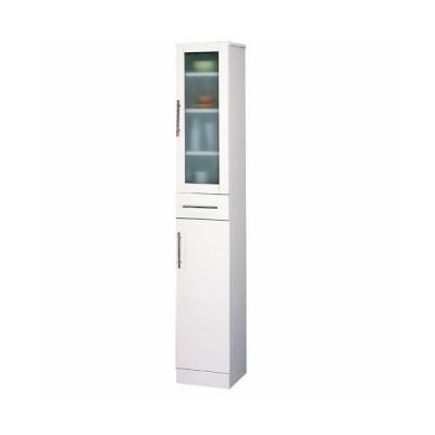 クロシオ カトレア食器棚30-180 KUROSHIO (幅30-高さ180cm) 23462 返品種別A