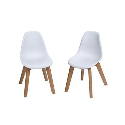 ギフトマーク ギフト マーク ホワイト キッズ 椅子セット (椅子2人用セット) ホワイト