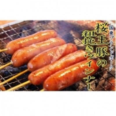 くにさき桜王豚の粗挽きウインナー1.2kg