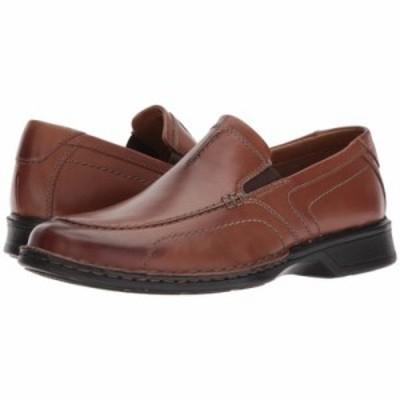 クラークス ローファー Northam Race Brown Leather