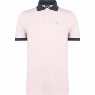 バブアー Barbour Lifestyle メンズ ポロシャツ トップス Barbour Lynton Polo Pink PI