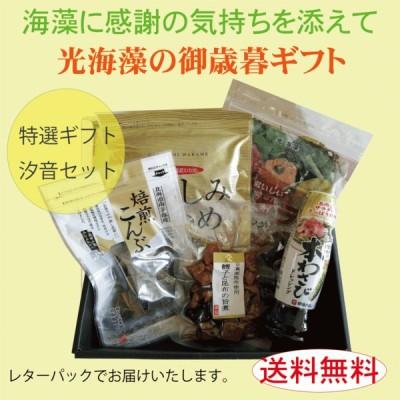 【復興感謝キャンペーン対象商品】光海藻の特撰春ギフト 汐音セット