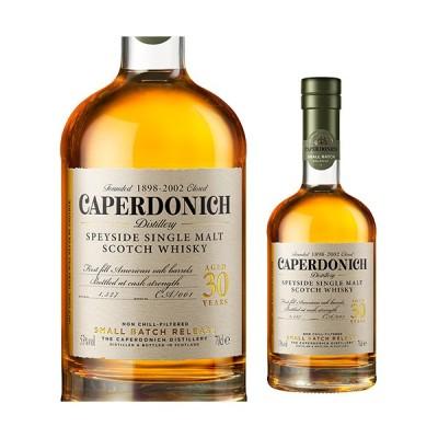 キャパドニック 30年 シークレットスペイサイド 700ml 51.1度 スコッチ スペイサイド シングルモルト ウイスキー CAPERDONICH 長S
