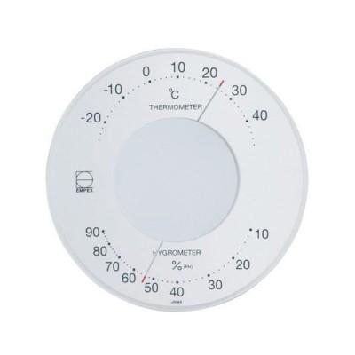 エンペックス 温度・湿度計 セレナ温・湿度計 壁掛用 LV-4303 ホワイト [ホーム&キッチン] [ホーム&キッチン]