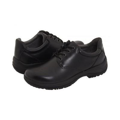 Dansko ダンスコ メンズ 男性用 シューズ 靴 オックスフォード 紳士靴 通勤靴 Walker - Black Smooth Leather