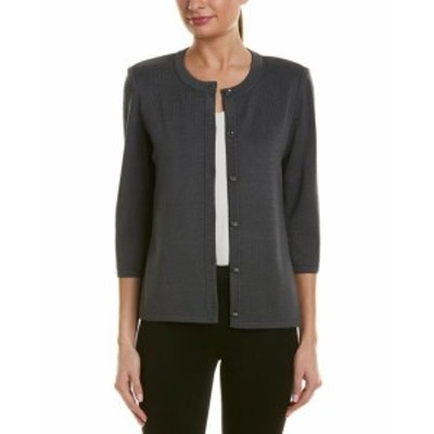 ファッション 衣類 St. John Wool-Blend Cardigan