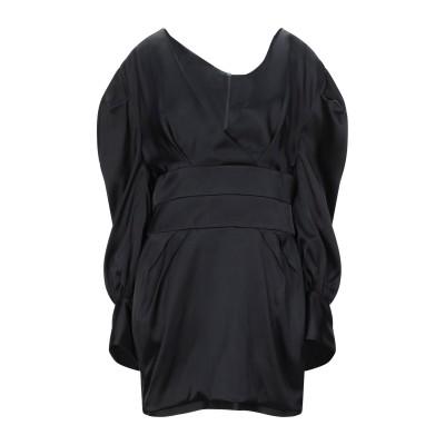 アレクサンドル・ボーティエ ALEXANDRE VAUTHIER ミニワンピース&ドレス ブラック 44 レーヨン 96% / ポリウレタン 4%