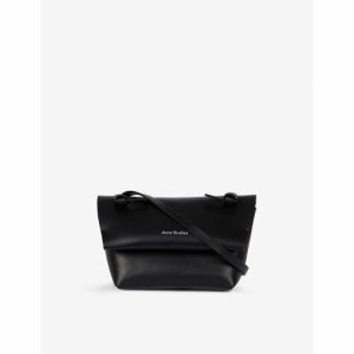 アクネ ストゥディオズ ACNE STUDIOS レディース ショルダーバッグ バッグ Alexandria mini leather cross-body bag BLACK