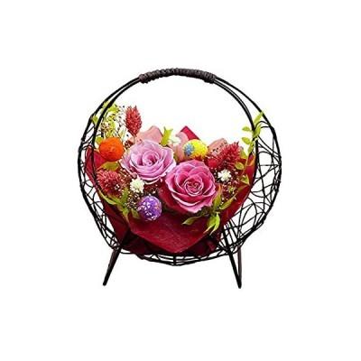 サウンドアレンジ 花つづり(なでしこ色) プリザーブドフラワー プレゼント 花 ギフト