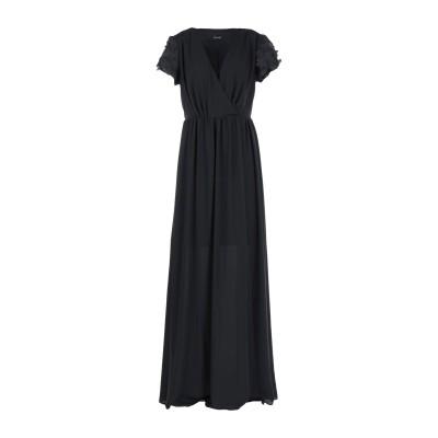 (A.S.A.P.) ロングワンピース&ドレス ブラック 42 ポリエステル 100% ロングワンピース&ドレス